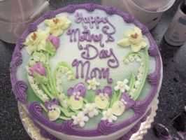 Mother's Day Cake by tini