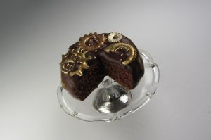 Steampunk Chocolate Cake by Aya-no-Shrink-Ray