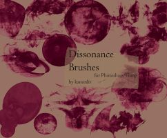 Dissonance brushes by kanonliv