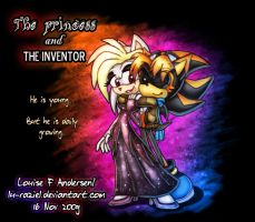 The Princess and the Inventor by lu-raziel