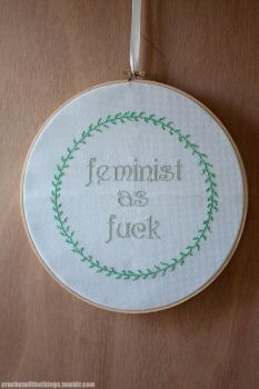 Feminist as f*ck by Angie-Chan070707