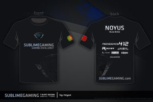 sublimegaming T-Shirt BETA 4 by NOYUS