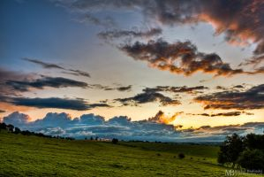 Hexham sunset by Yupa