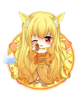 +COMMISSION+ Deedo-Chan -Yousui by Yukina-Chi