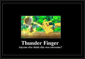 Thunder Finger meme by 42Dannybob