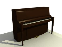3D Piano by AlmightyOracle