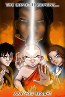 Avatar Fan Art Contest Poster by AmiraElizabeth