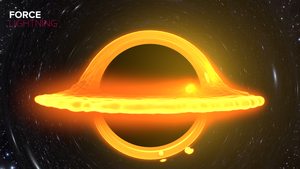 Interstellar Black Hole Render by ForceLightning228