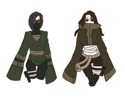 Adoptables: Aburame Heck Yes =CLOSED= by MhhKiwii