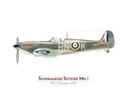 Supermarine Spitfire Mk.I by MercenaryGraphics