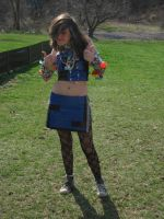 ABC Duct Tape Outfit by bellybuttxn