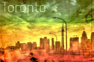 Post-Apocalyptic Poster of Toronto 2 by davidwroxy