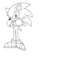 A: Sonic uncolored by nothing111111