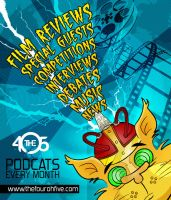 The 405 Podcats Final Poster by Wiggagram