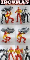Iron Man Custom 2 pack by KyleRobinsonCustoms
