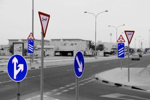 Qatar - Road Signs 01 by GiardQatar