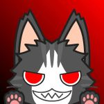 Akatsuki kitty free icon by DragonSongWolf