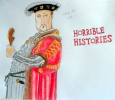Horrible Histories - Henry VIII by lizzib7292