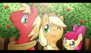 Apples by PegaSisters82