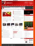 UnitedGaming Website by nosx