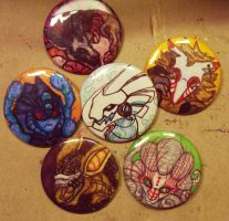 Buttons Buttons Round 2 by GlueBandit