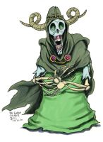 Daily Sketches The Lich by fedde