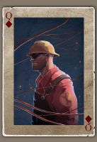 TF2 Poker Engineer by biggreenpepper