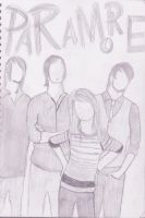 Paramore Sketch by RikuShadow