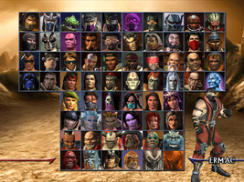 Mortal Kombat Armageddon alternative select screen by Ser3234