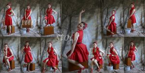 red pin up exclusives by magikstock