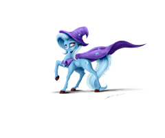 Trixie the Great and Powerful ^^ by Skitsniga