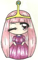 Princess Bubblegum With Colour by Zephrine