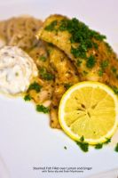Steamed Fish in Herbs and Lemon by Foodtrip