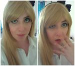 Sonia Nevermind - Makeup Test by Blueberry-Tale