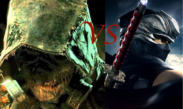 Scarecrow vs. Ryu Hayabusa by TheDeadlyRosered