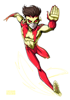 Kid Flash by LucianoVecchio