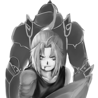 FMA doodle thingy progress... by XSpiritWarriorX