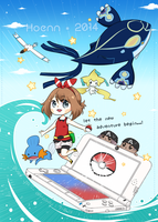 Omega Ruby / Alpha Sapphire by 7-8jf