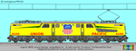 Union Pacific GG1 by marmelmm