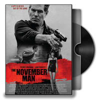The November Man DVD Folder Icon by Omegas82128