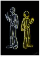 Daft Punk - GLOW by Maiden-Chynna