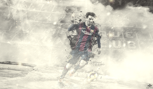 Lionel Messi (fc Barcelona) 2015 Wallpapar by FLETCHER39