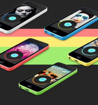 Music Player on Iphone by brookiecookie