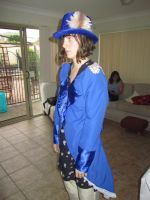 Side view of cosplay try out: Ciel by Jojo-t