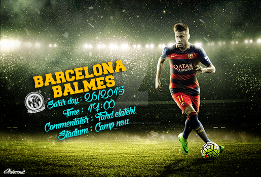 Barcelona vs Balmes by mahmoddesigner