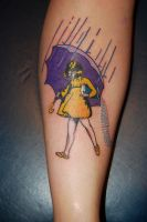 Morton Salt girl by HotWheeler
