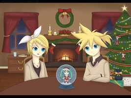 Vocaloid - Christmas by CeruleanShadow