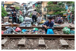 Living on the rail tracks I. by kmetjurec