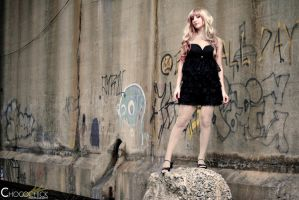 Black Lace Dress Sheryl Nome by Natalie526