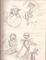 Halloween Sketchdump by ALS123
